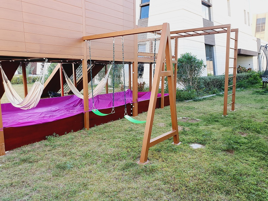 Outdoor Play Area for Latifa