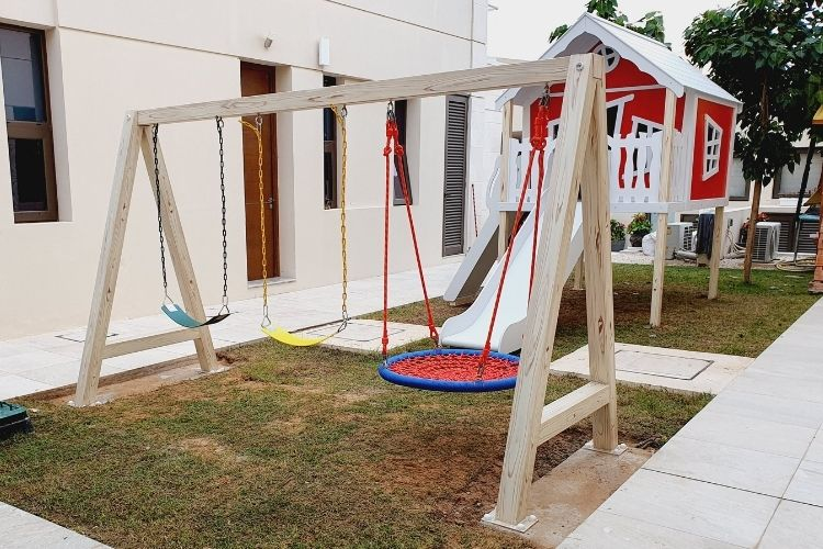 Outdoor Play Area for Simona