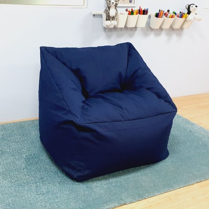 Bean Bag Chair Blue