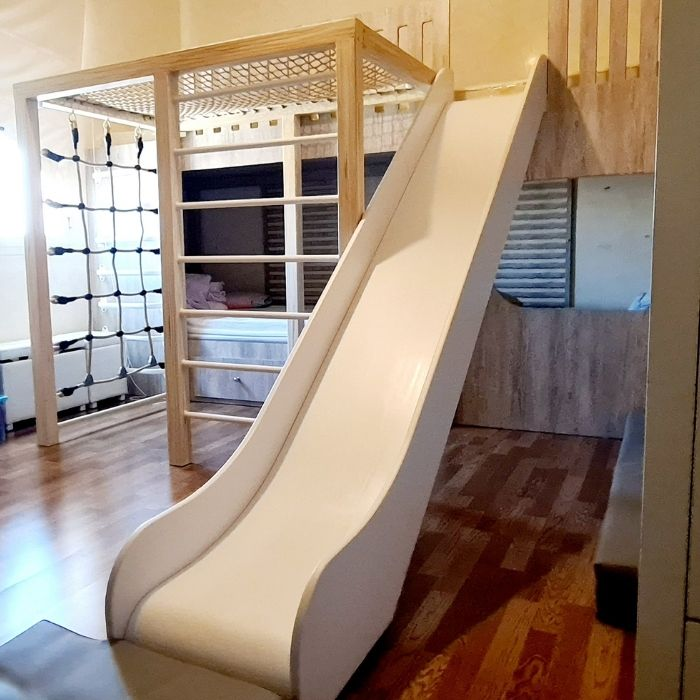 4 Sleeper Bunk Bed with Climbing Frame