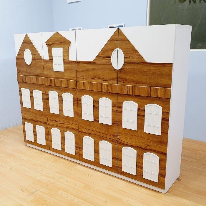 Dolls House Cupboard x 2