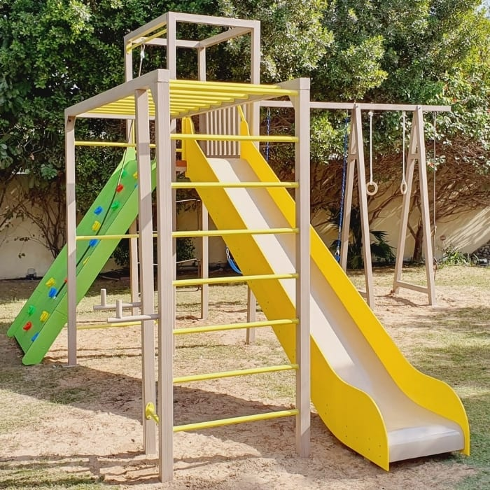 Outdoor Climbing Frame Play Structure