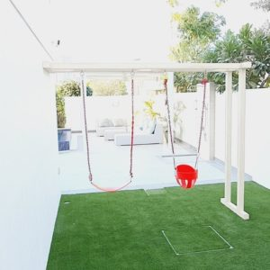 Wall Attached Double Swing