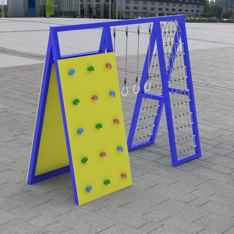 Metal Climbing Frame - Section A