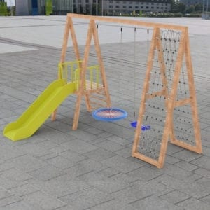 Metal Climbing Frame - Section B