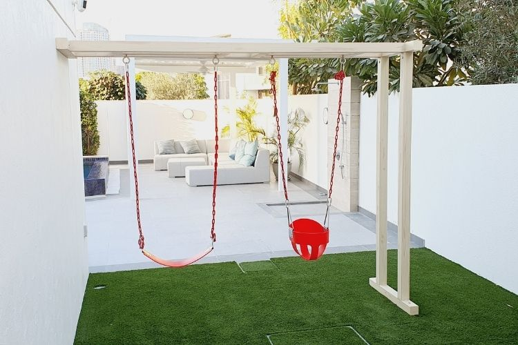 Outdoor Play Area for Angie in Dubai