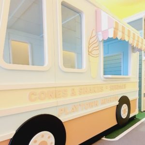 Playhouse Ice Cream Truck