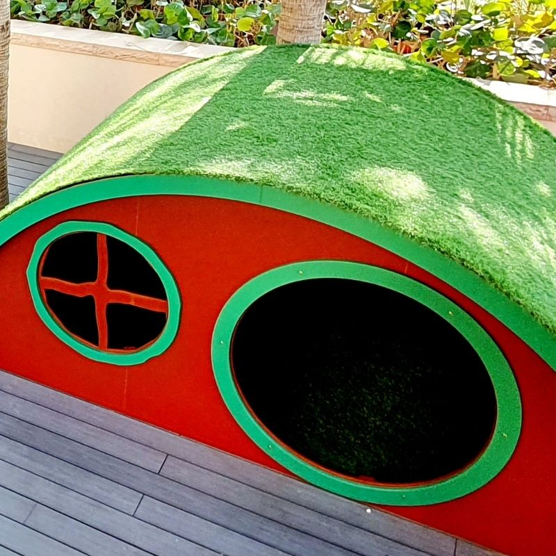 Hobbit House with Grass Roof