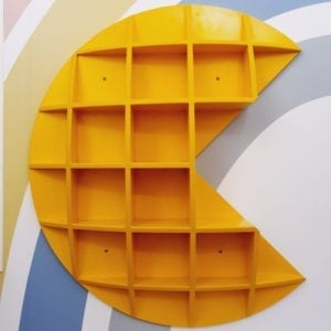 Pac Man Shelf
