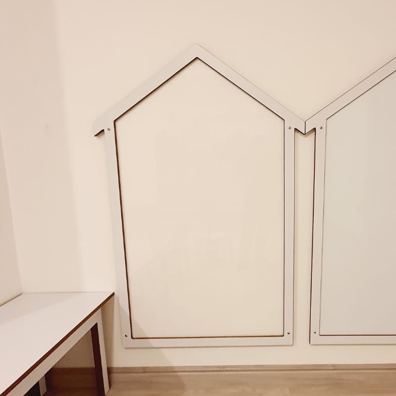 Acrylic Clear Perspex Drawing Board at Moon Kids Home