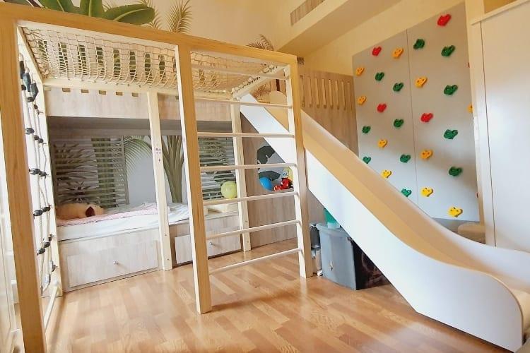 Bedroom for Fatima - Jungle Theme