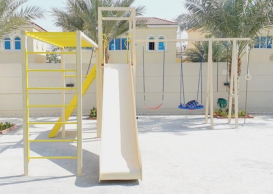 Outdoor Play Area for Heena