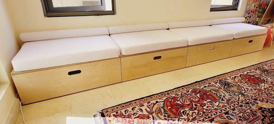 Playroom for Osama and Ana