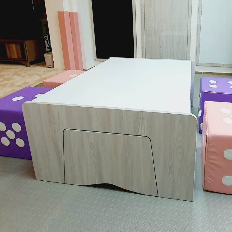 Play Table in Rustic Grey