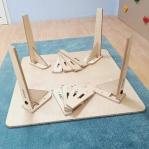 Adjustable Montessori Table