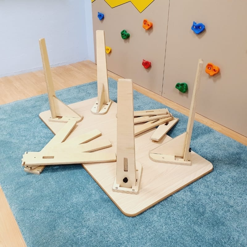 Adjustable Montessori Table - Rectangle