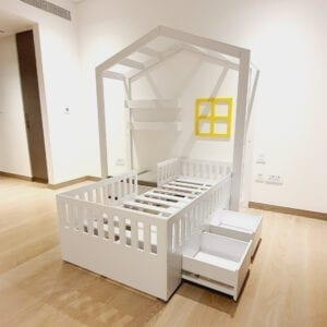 House Bed with Seating