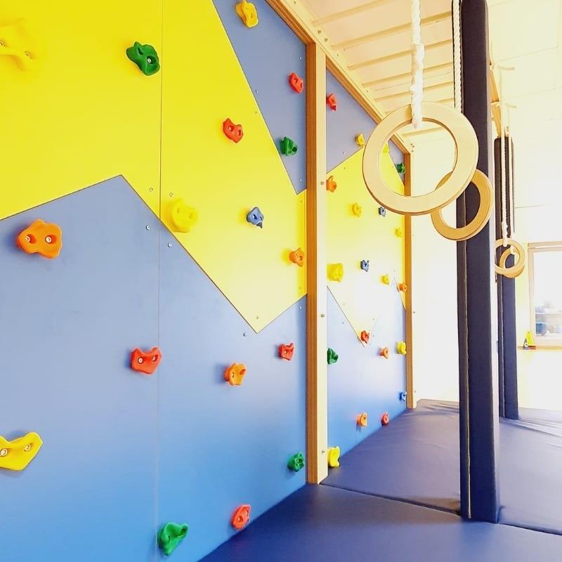 Climbing Wall with Monkey Bars XXL