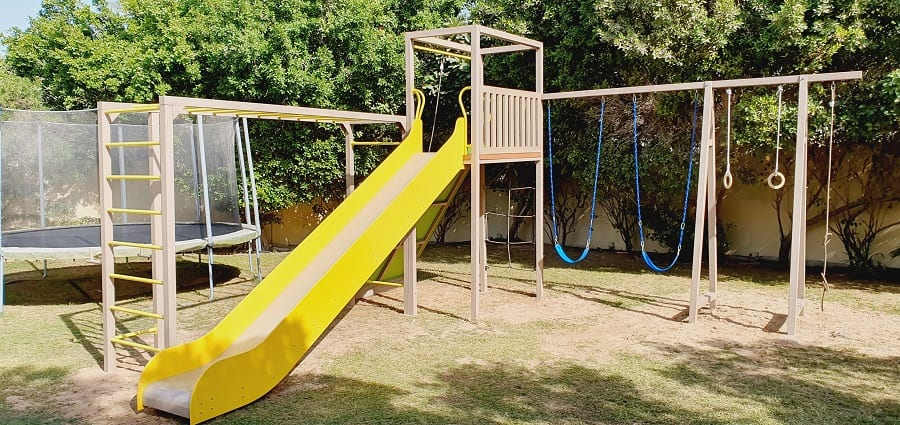 Outdoor Play Area for Maria