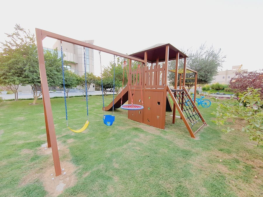 Outdoor Play Area for Rama