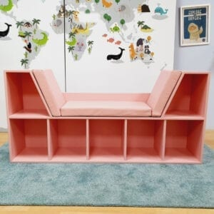Bookshelf with Seating