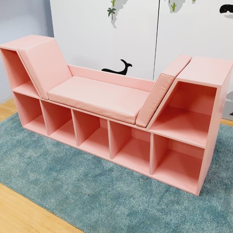 Bookshelf with Seating