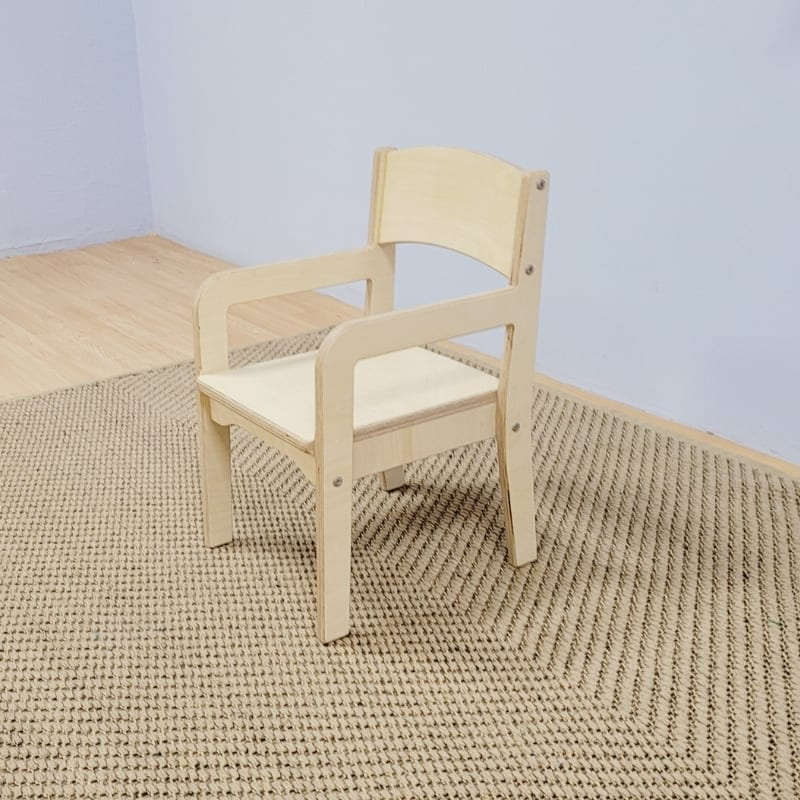 Simple Chair with Arm Rests