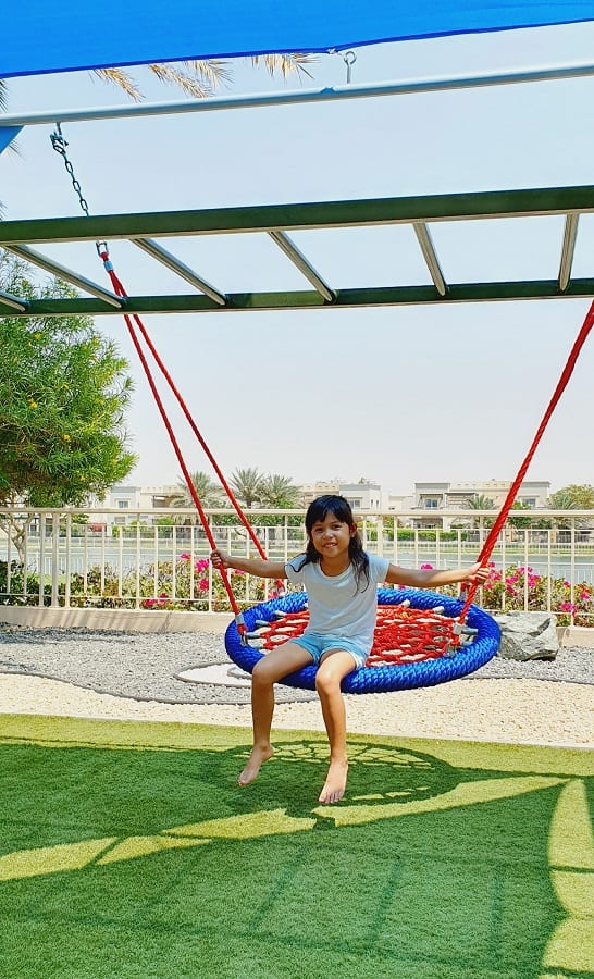 Outdoor Play Area for Arjuna