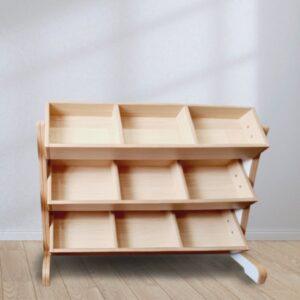 Angled 9 Tray Toy Storage