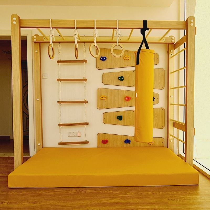 Monkey Bars with Accessories Set - Type 2