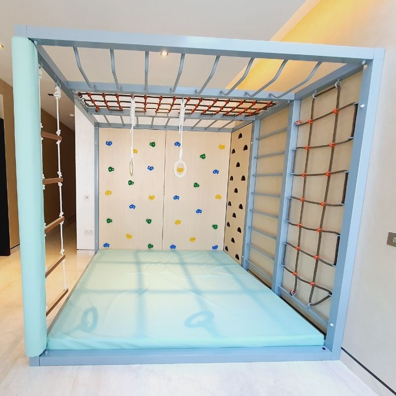 Climbing Wall Frame Set With Accessories