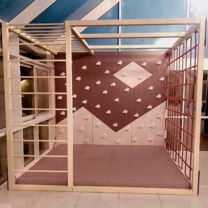 Freestanding Climbing Wall Frame Set