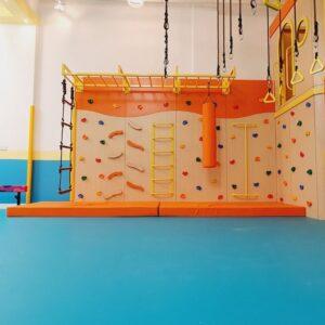 ensory Climbing Wall With Monkey Bars