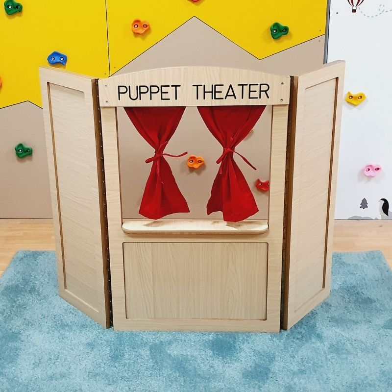 MINI ROLE PLAY PUPPET THEATER