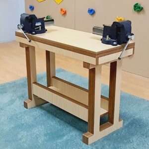 Mini Work Bench Table With Vices