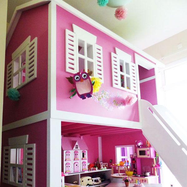 BARN HOUSE BUNK BED