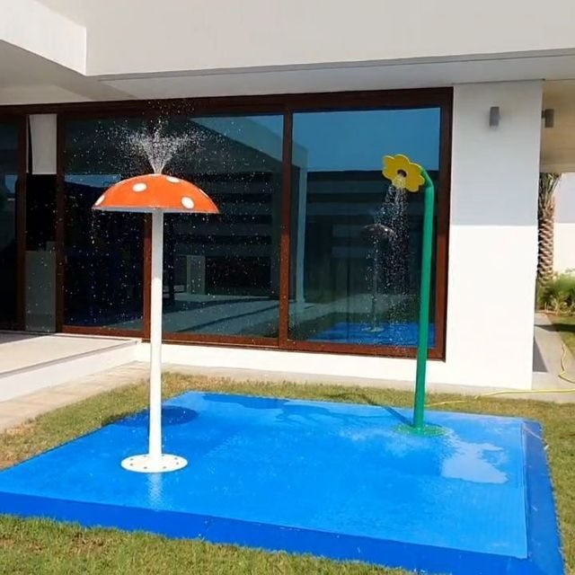 SPLASH PADS 💦  Available for monthly rent!! AED 2200 - includes installatioinstallation and delivery to #abudhabi & #dubai